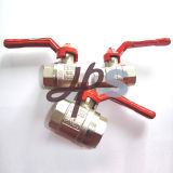 Hot Forging Brass Ball Valves with Zinc-Alloy Handle