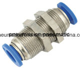 Pneumatic Plastic Fitting (bulkhead fittings) , Push in Fitting