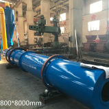 Ce Approved Coal Sawdust Rotary Dryer