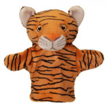 2018 Baby Doll Hand Puppet Tiger Hand Puppet