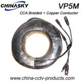 CCA Braided and Copper Conductor Siamese CCTV Cable (VP5M)