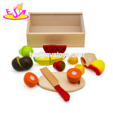 New Hottest Kitchen Play Set Wooden Cutting Fruit Toy for Children W10b267