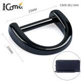 High Quality Bag Accessories Gunmetal Custom Metal D Ring, Design Nickel-Free Zinc Alloy 23mm Metal Welded D Ring for Bag