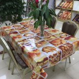 Cheap Customized Easy Clean Family Dining Embossed PVC Table Cover in Roll