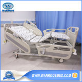 Hospital Medical Surgical Five Function Adjustable ICU Electric ICU Patient Nursing Care Bed Equipment