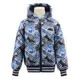 Children Winter Factories China Designer Custom Hoodie Warm Coat Casual Clothes Padded Fashion Print Classic Clothing Wholesale Brand Kids for Boys