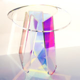 Factory Modern Clear Acrylic Coffee Table Household Iridescent Coffee Table