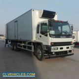 Thermo King Refrigerated Van Truck Fresh Flowers Transportation Vehicle