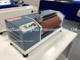DIN Abrasion Resistance Tester of Rubber, Abrasion Testing Machine For Elastic Material And Other Soft Synthetic Leather