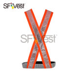 Supply High Visibility Safety Reflective Construction PVC Vest Security Protect Belt