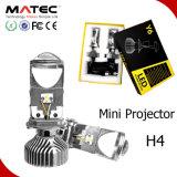 Y6 G6 LED Lens Mini Projector H4 Bulbs High Low Beam 40W 4000lm