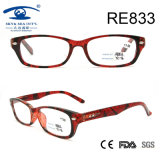 2017 Wholesale Plastic Full Rim Fashion Reading Glasses (RE833)