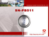 Elevators Parts Push Button (SN-PB511)