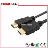 China Factory HDMI Cable 1.3version 1.5m Cu Inner Conductor