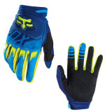 Blue&Yellow Wear-Proof Motorcycle off-Road Racing Gloves (MAG61)