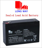 6V10ah Solar Backup Battery with Good Quality and Standard Terminal