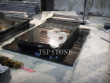 Black Marble/Granite Stone for Monument/Gravestone/Headstone/Tombstone/Memorial with Quality Products