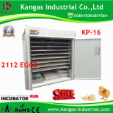 Automatic Duck Egg Incubator for Sale Kp-16