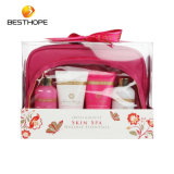 Hot Sale Hair and Skin Care Bath Soap Gift Set with Big Cosmetic Bag