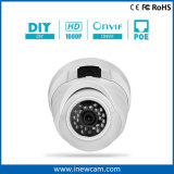 1080P Onvif Metal Housing Dome Poe IP Camera with Mic