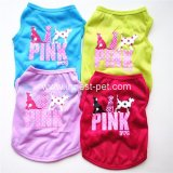 New Dog Product Wholesale Cheap Pet Clothing Tshirt Dog Clothes
