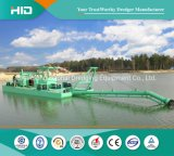 High Quality Jet Type Sand Suction Dredger Water Injection Dredger Vessel for Inland River Dredging