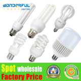 Best China Factory Wholesale High Power 2u/3u/4u Energy Saving Light Lighting 5watt 9W E27 T3/T4/T5 Full Half Spiral Tube CFL Lamp/ Lotus Energy Saving LED Bulb