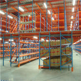 Heavy Duty Mezzanine Floor Rack with Carton Flow Rack