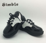 Infant Toddler Prewalker Black Walking Baby Casual Leather Shoes