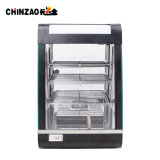 Small Commercial Hot Food Chicken Warmer Display Showcase Price