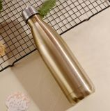 Simple Life Cheap Flask Cola Shaped Water Bottle Insulated 18/8 Stainless Steel Vacuum Cup