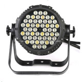 Outdoor Waterproof 54X3w RGBW LED PAR Can Wash Light