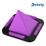 Pyramid Cell Phone Stand Portable Silicone Holder Non-Slip Car Desk Mount Holder