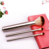 Nylon Hair Aluminum Ferrule Loose Powder Eye Cosmetics Makeup Brush Set
