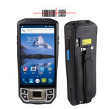 Android 4G WiFi 3G Camera Biometric Java Fingerprint Scanner with 1d 2D Barcode Reader