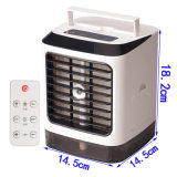 China USB Portable Small Mini Room Space Personal Air Cooler Water Fan Cooling Air Conditioner Manufacturing