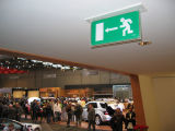 Recessed Self-Contained Emergency Exit Signs