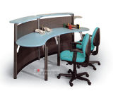 Cp-11-High Quality Office Metal Reception Desk/Front Table Design