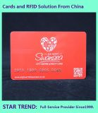 Hair Salon Card with Magnetic Stripe Made Plastic
