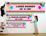 Wholesale Multicolor Outdoor Waterproof Advertising Vinyl Banner Custom Printing
