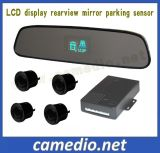 Rear View Mirror Parking Sensor with LCD Display for Cars
