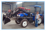 4x4 Compact Tractor with Front End Loader, Excavator