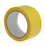 Qinjian Factory No Glue Residue Crepe Paper Masking Tape for Car Automotive or Furniture Painting
