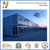 Factory Suppiler Prefab/ Prefabricated Cheaper Two Storey Office Container House Building with Glass Wall