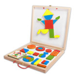 Wooden Magnetic Block Toys for Kids and Children