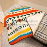 Printed Polyester Sherpa Baby Fleece Blanket / Baby Product