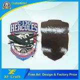 Cheap Customized Soft PVC Rubber Army 3D Airplane Fridge Magnet for Souvenir