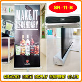 Triangle Base Pop up Banner Stand Aluminum Roll up Display (SR-11-B)