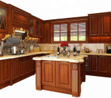Hot Sale North American Standard Luxury Solid Wood Kitchen Cabinet Furniture