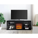 Latest Designs TV Stands Wood Furniture Living Room Home Electric Fireplace for Sale Online